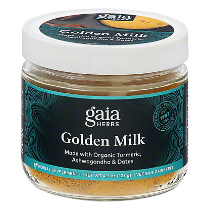 Gaia Herbs Golden Milk,3.7 OZ