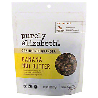 Purely Elizabeth Banana Nut Butter Grain Free Granola, 8 oz