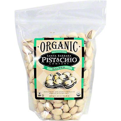 Santa Barbara Pistachios Salted, 12 oz