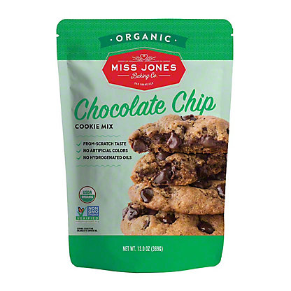 Miss Jones Sea Salt Chocolate Chip Cookie Mix,13 OZ