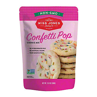 Miss Jones Organic Confetti Pop Cookie Mix,13 OZ
