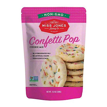 Miss Jones Organic Confetti Pop Cookie Mix,13 OZ