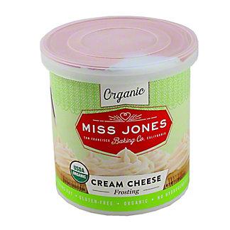 Miss Jones Organic Cream Cheese Frosting,11.29Z