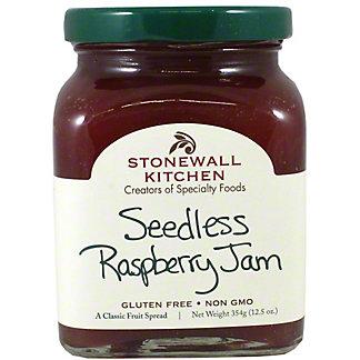 Stonewall Kitchen Seedless Raspberry Preserves, 12.5 oz