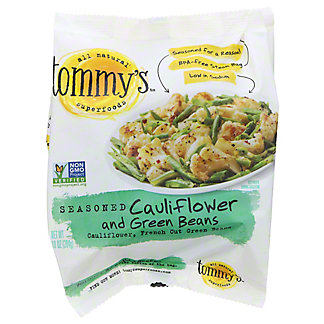 Tommy's Seasoned Cauliflower And Green Beans,10 OZ