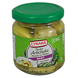 Cynara Baby Artichoke Hearts In Water, 6.75OZ