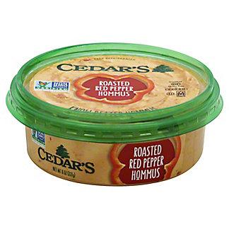 Cedar's Roasted Red Pepper Hommus, 8 oz