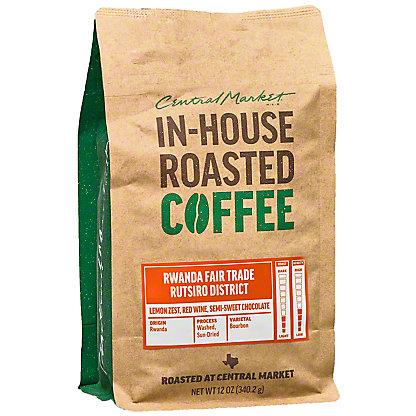 Central Market Organic Rwanda Coffee, 12 oz