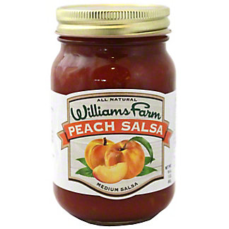 Williams Farm Peach Salsa, 16 oz
