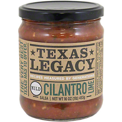 Texas Legacy Cilantro Lime Mild Salsa,16 oz