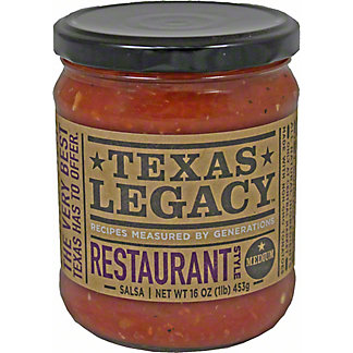 Texas Legacy Salsa Restaurant Style Medium,16 OZ