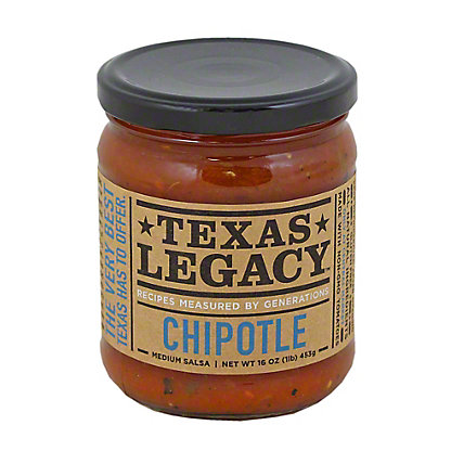 Texas Legacy Chipotle Salsa,16 OZ