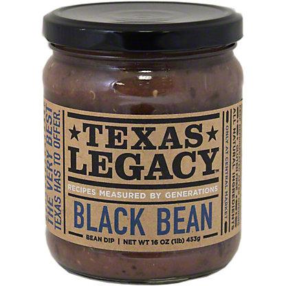 Texas Legacy Black Bean Dip,16 oz
