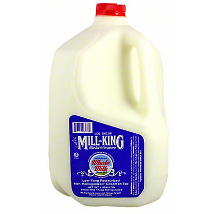 Mill King Whole Milk Gallon, 1 gal