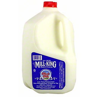 Mill King Whole Milk Gallon, 1 gal