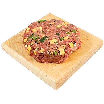 Fresh Jalapeno Cheddar Angus Beef Burger