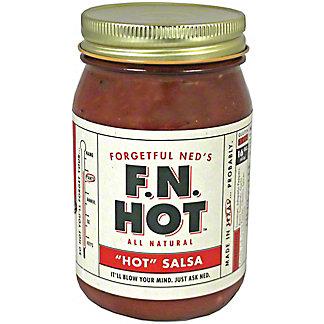 Forgetful Neds Salsa Hot,16 OZ