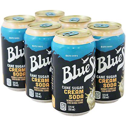 Blue Sky Blue Sky Natural Soda Cream Soda,72 OZ