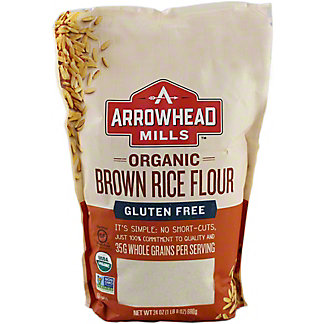Arrowhead Mills Organic Brown Rice Flour,24 oz