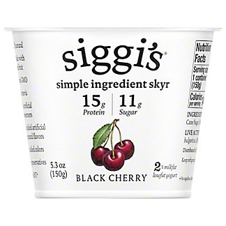 Siggi's Black Cherry Yogurt,5.3 oz