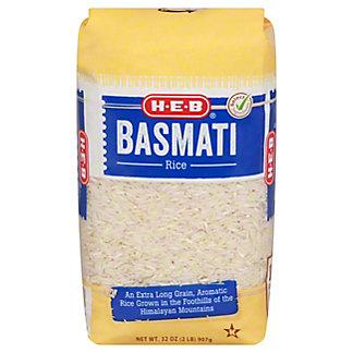H-E-B Basmati Long Grain Rice, 32 oz