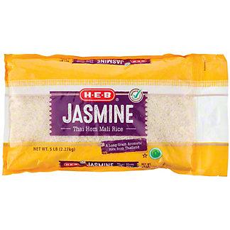 H-E-B Select Ingredients Jasmine Thai Hom Mali Rice, 5 lb