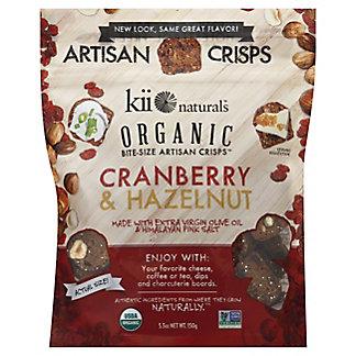 Kii Naturals Organic Cranberry Hazelnut Bites, 5.3 oz