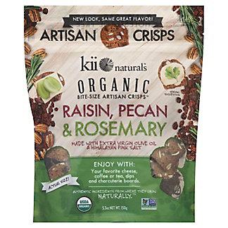 Kii Naturals Organic Raisin Pecan & Rosemary Bites, 5.3 oz