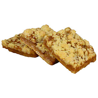 Central Market Caramel Apple Crumb Bar 3t, 10 oz