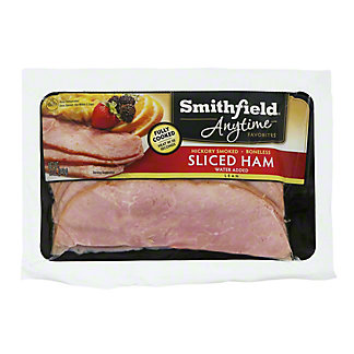 Smithfield Anytime Favorites Hickory Smoked Boneless Sliced Ham, 12 oz