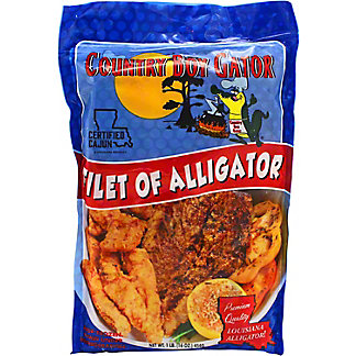 Bayon's Catch Frozen Alligator Fillet, 16 oz