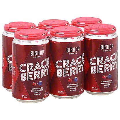 Bishop Cider Crackberry 6 pk,12 oz