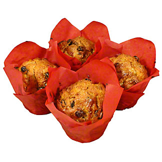 Central Market Pineapple Coconut Muffin 4Ct, 19 oz