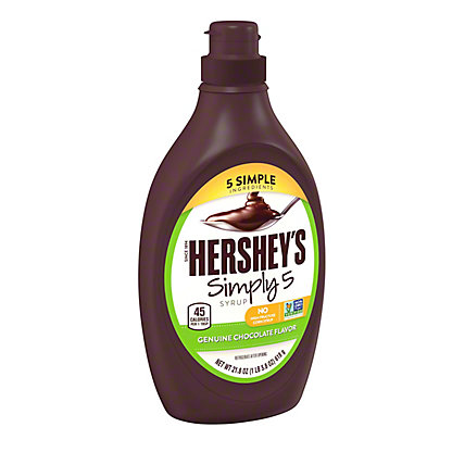 Hershey's Syrup Simply 5 Chocolate,21.8 oz