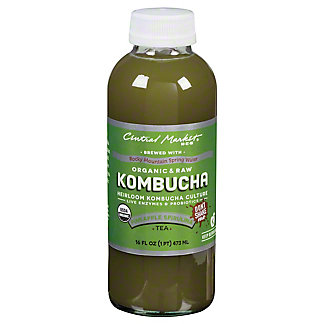 Central Market Kombucha Pineapple Spirulina, 16 oz