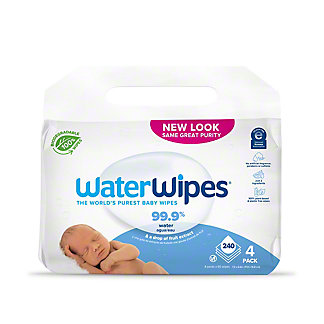 WaterWipes Value Pack Worlds Purest Baby Wipes, 240 ct