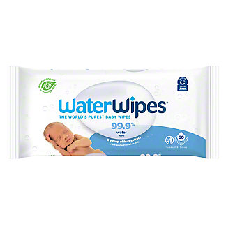 WaterWipes Worlds Purest Baby Wipes, 60 ct