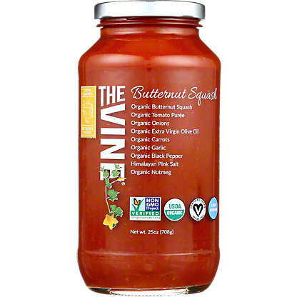 The Vine Marinara Organic Butternut Squash, 25 OZ