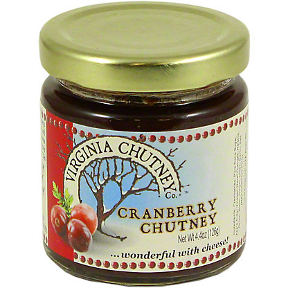 The Virginia Chutney Company Cranberry Chutney, 4.4 OZ