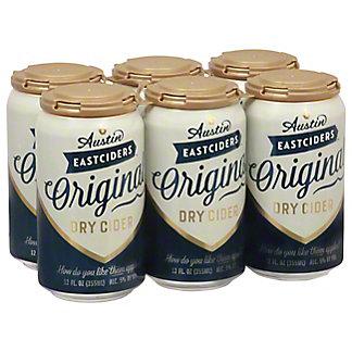 Austin Eastciders Original Dry Cider,6/12 oz