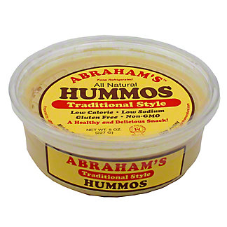 Abraham's Traditional Style Hummos,8 OZ