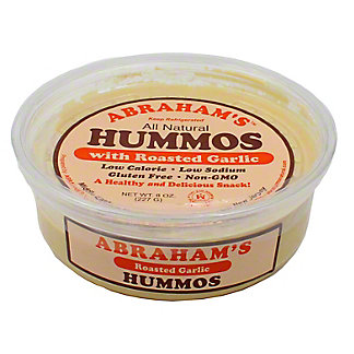 Abraham's Roasted Garlic Hummos,8 OZ