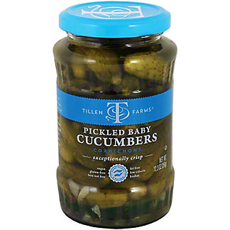 Tillen Farms Pickled Baby Cucumbers,12.3 oz