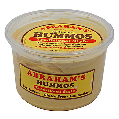 Abraham's Traditional Style Hummos,16 OZ
