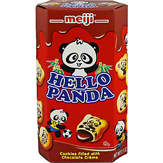 Meiji Hello Panda Chocolate Biscuits, 2.10 oz