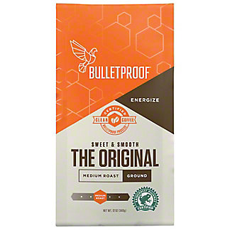 Bulletproof The Original Medium Roast Ground Coffee, 12 oz
