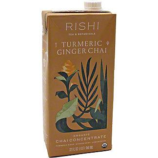 Rishi Tumeric Ginger Chai, 32 oz