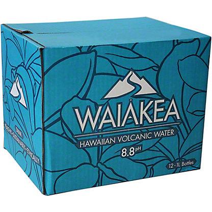 Waiakea Hawaiin Volcanic Water, 1 L
