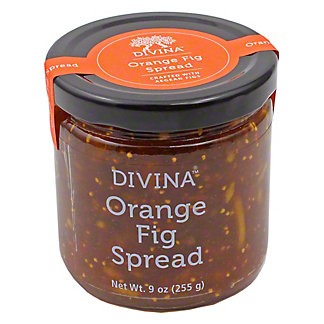 Divina Orange Fig Spread, 9 OZ