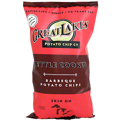 Great Lakes Potato Chip Co. Kettle Chips Barbeque, 8 oz